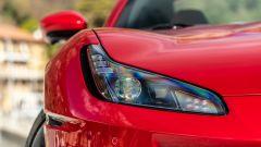 Ferrari Portofino M, le luci anteriori