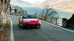 Ferrari Portofino M sulle strade del lago di Lecco