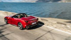 Ferrari Portofino M, un momento del test drive