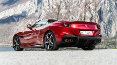 Ferrari Portofino M, vista 3/4 posteriore