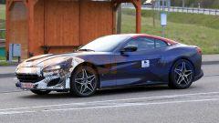 Ferrari Portofino restyling, prime foto spia