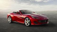 Ferrari Portofino: vista 3/4 anteriore