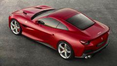 Ferrari  Portofino: vista dall'alto