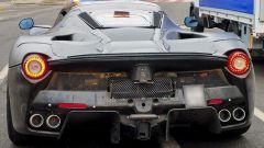 Ferrari prototipo hypercar: la foto dell'utente Instagram Yarrix pubblicata sul suo profilo