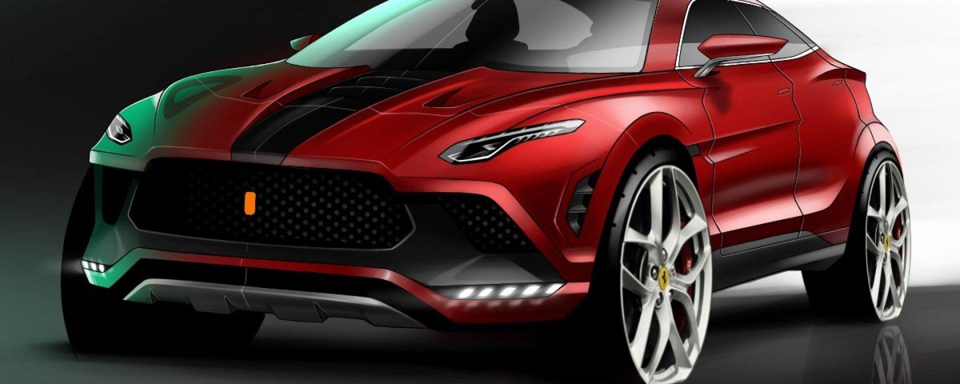 Ferrari Purosangue: il SUV del Cavallino nel 2020