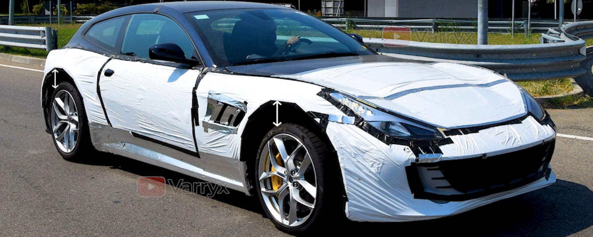 Ferrari Purosangue: il SUV si nasconde bene, sotto la carrozzeria della GTC4Lusso T