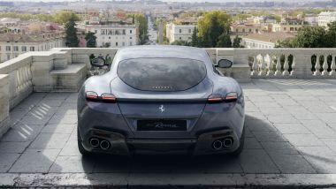 Ferrari Roma, dettaglio dei fari posteriori