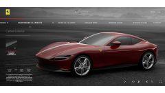 Ferrari Roma, il configuratore: dettagli in carbonio si o no?