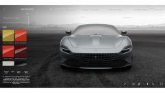 Ferrari Roma, il configuratore: la scelta del colore della carrozzeria