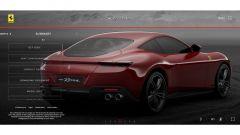Ferrari Roma, il configuratore: la schermata finale riepilogativa