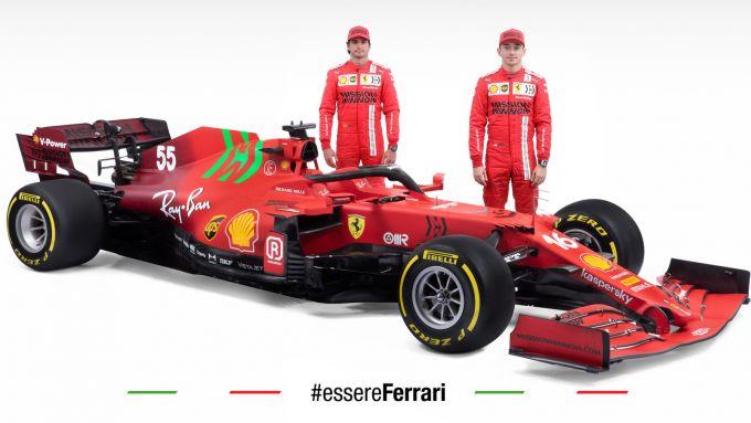 Ferrari SF21 - Charles Leclerc, Carlos Sainz