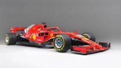 Ferrari SF71H (2018) di Vettel