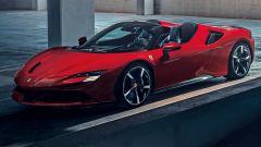 Ferrari SF90 Spider: solo un rendering. Per ora...