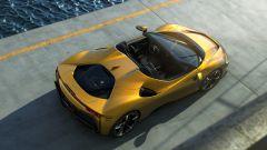 Ferrari SF90 Spider, vista dall'alto
