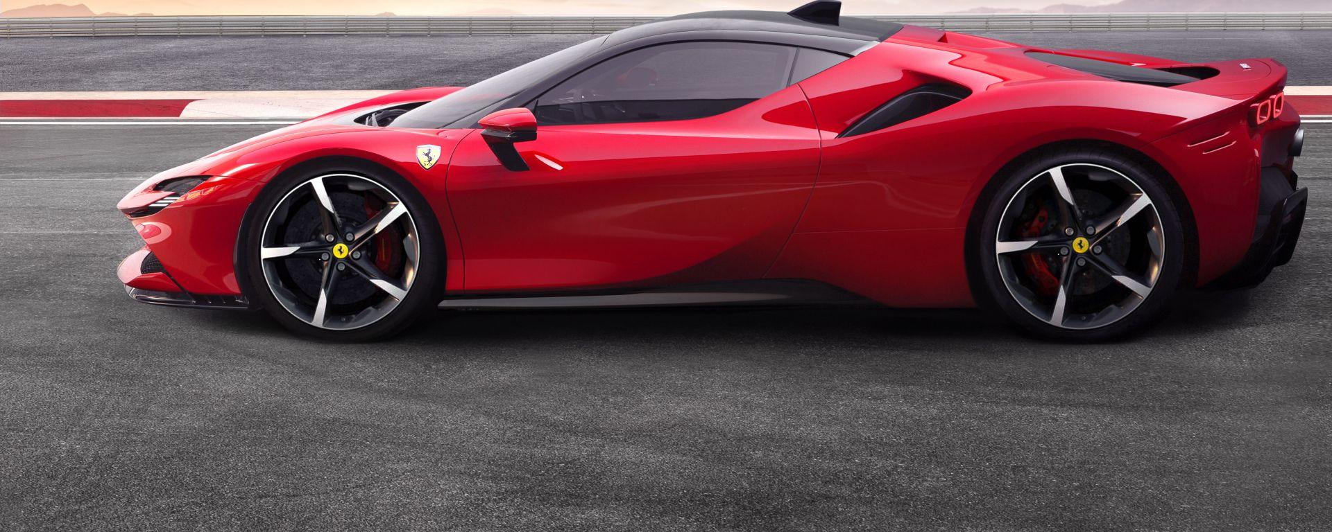 Ferrari SF90 Stradale e le altre ibride Ferrari all'orizzonte