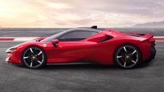 Ferrari SF90 Stradale, la fiancata