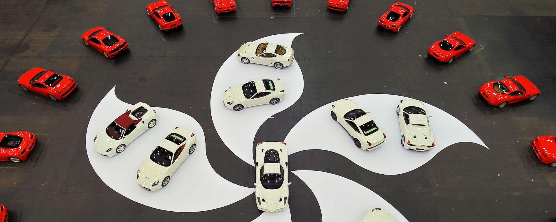 Ferrari: show per i 30 anni ad Hong Kong