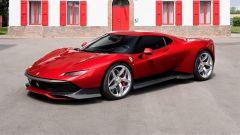 Ferrari SP38: vista 3/4 anteriore