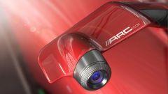 Ferrari Stallone, telecamere al posto degli specchietti