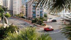 Ferrari sul mitico circuito di Monaco