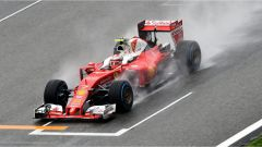 Ferrari sulla pioggia in Cina FP3