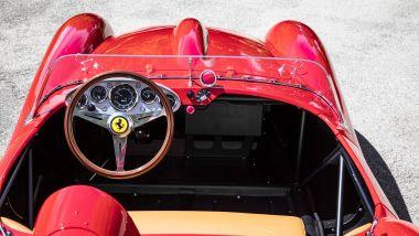 Ferrari Testa Rossa J, gli interni