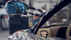 Ferrari Testarossa by Officine Fioravanti: gli specchi esterni applicati sui montanti