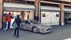 Ferrari Testarossa by Officine Fioravanti: si entra in pista per i test