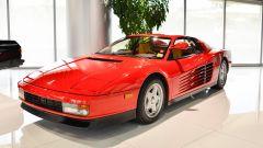Ferrari Testarossa, vista 3/4 anteriore