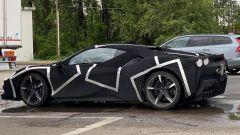 Ferrari V6 ibrida, nuove foto (e video) spia. Baby SF90 Stradale? - Immagine: 3