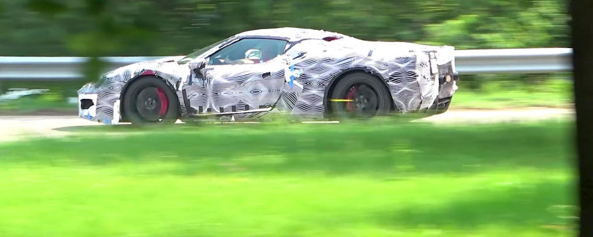 Nuova Ferrari V6 Hybrid spiata in video. Il sound? Alza il volume