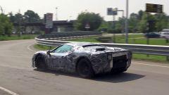 Nuova Ferrari V6 Hybrid spiata in video. Il sound? Alza il volume - Immagine: 4