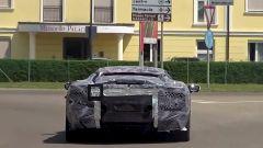 Nuova Ferrari V6 Hybrid spiata in video. Il sound? Alza il volume - Immagine: 5