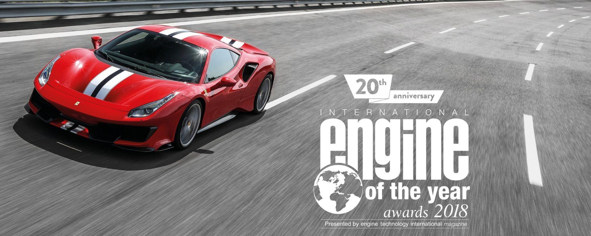Ferrari V8 turbo: miglior motore al mondo per il terzo anno di fila
