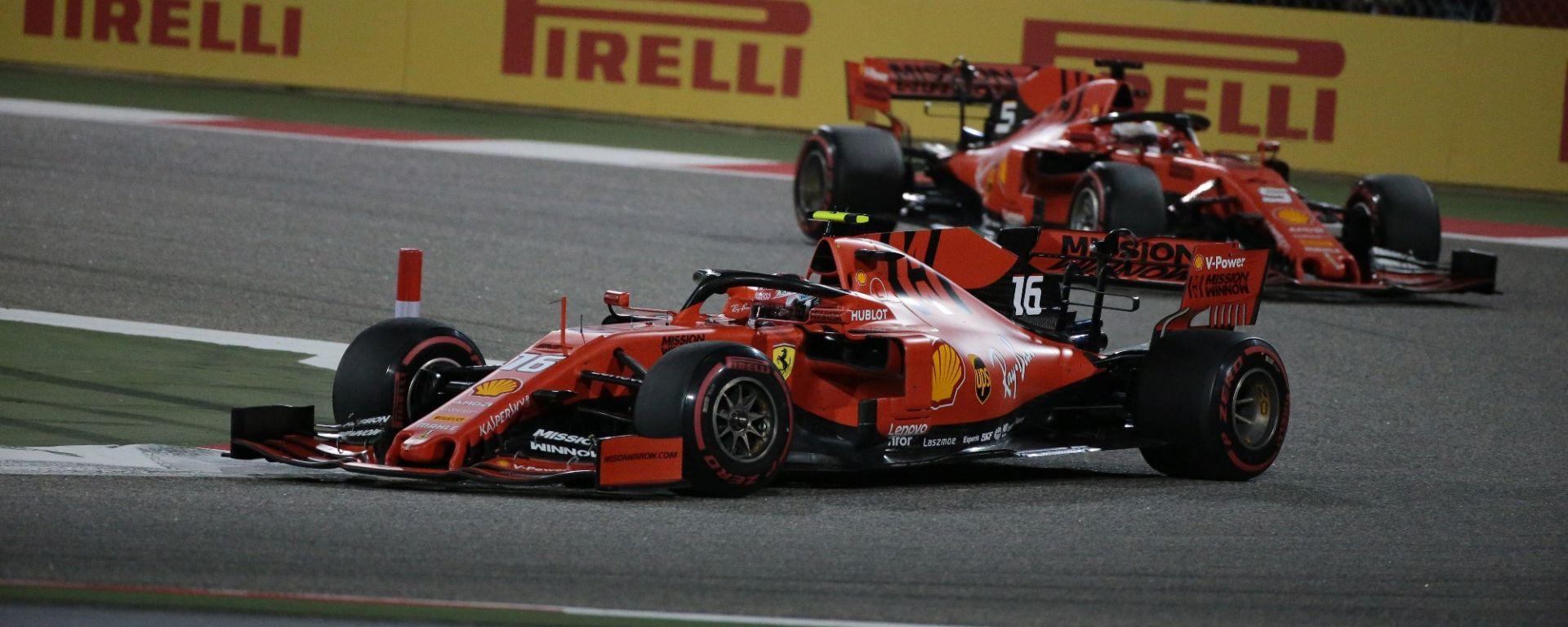 Ferrari, Vettel e Leclerc puntano al riscatto in Cina