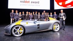 """Ferrari vince il """"Red Dot: Design Team of the year 2019"""""""