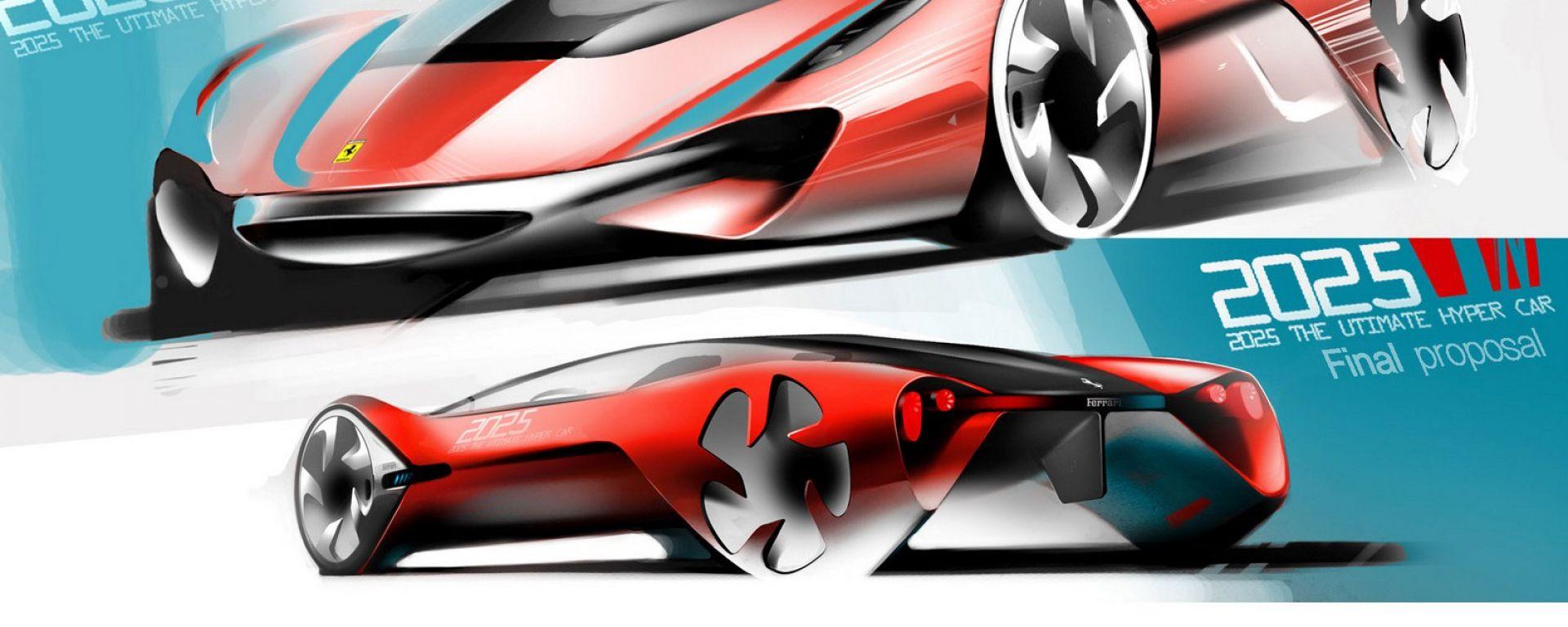 Ferrari World Design Contest: le Rosse del 2025