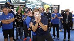 Festeggiamenti in onore di Jost Capito che lascia per approdare in F1