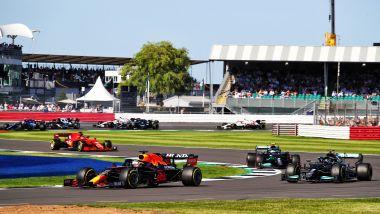 fF1 GP Gran Bretagna 2021, Silverstone: la partenza della Sprint Qualifying