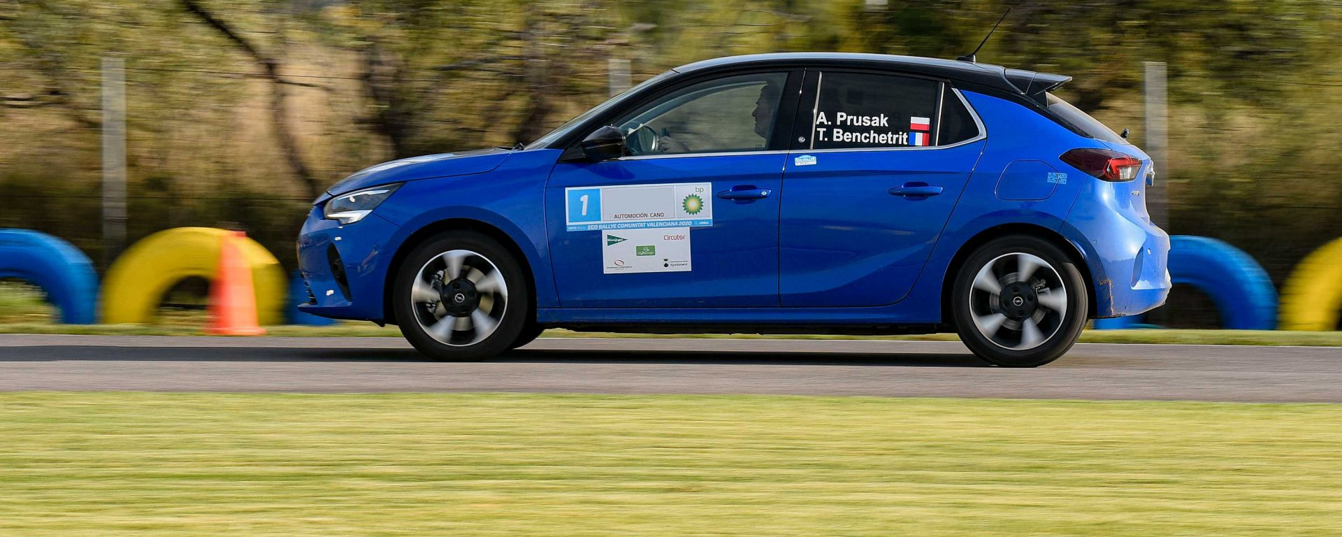 FIA E-Rally Regularity Cup 2020: Opel Corsa-e