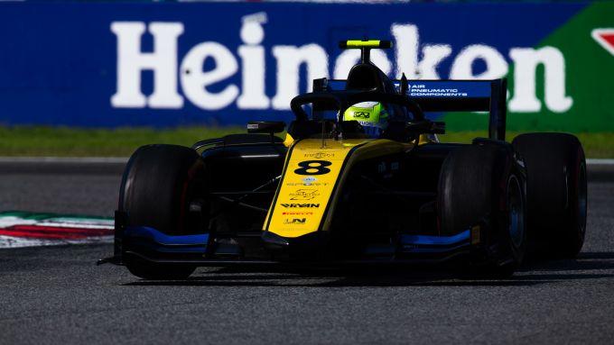 Fia F2 2019, Monza: Luca Ghiotto (Uni-Virtuosi) ha chiuso Gara-2 al quindicesimo posto