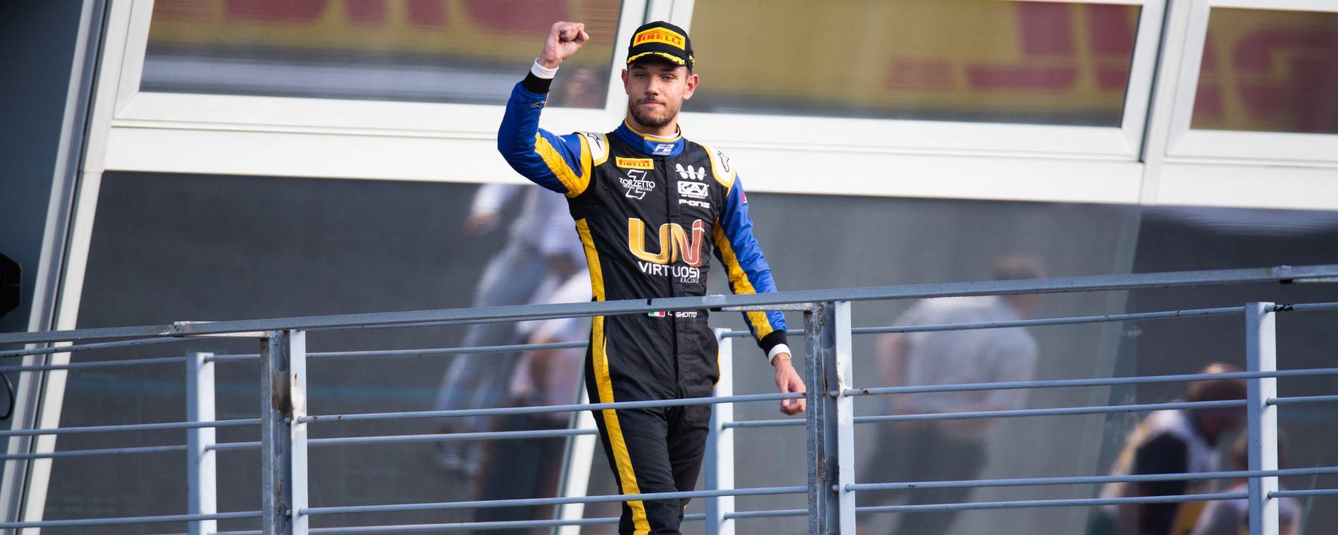 Fia F2 2019, Monza: Luca Ghiotto