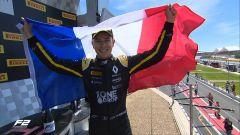 FIA F2 Sprint Race Francia, Hubert vince davanti a Correa e Zhou