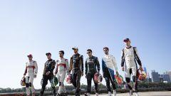 Fia Formula E, i piloti prima della tappa conclusiva della stagione 5 a New York