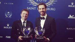 FIA Prize Giving 2018 - Allan McNish e Jean Eric Vergne