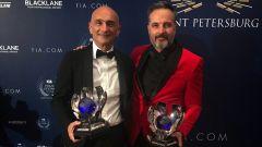 FIA Prize Giving 2018 - Gabriele Tarquini e Yvan Mueller