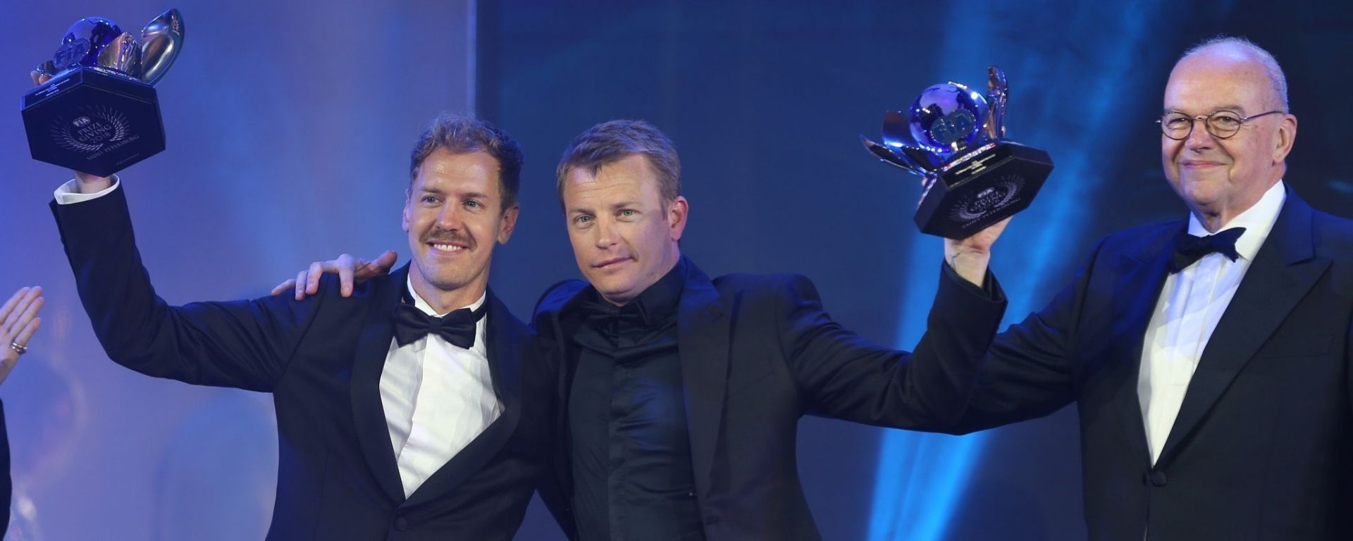 FIA Prize Giving 2018 - Sebastian Vettel e Kimi Raikkonen