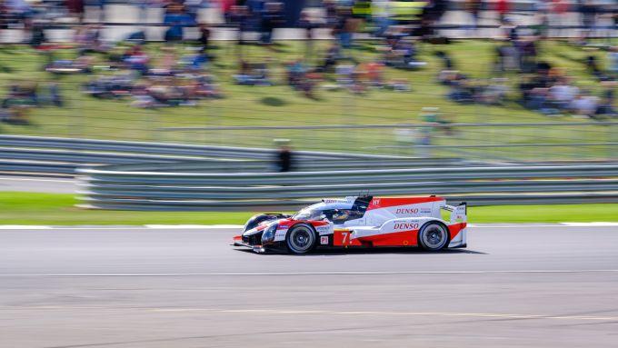 FIA WEC 2019-2020, 6h Silverstone: la Toyota TS050 di Kobayashi, Conway e Lopez