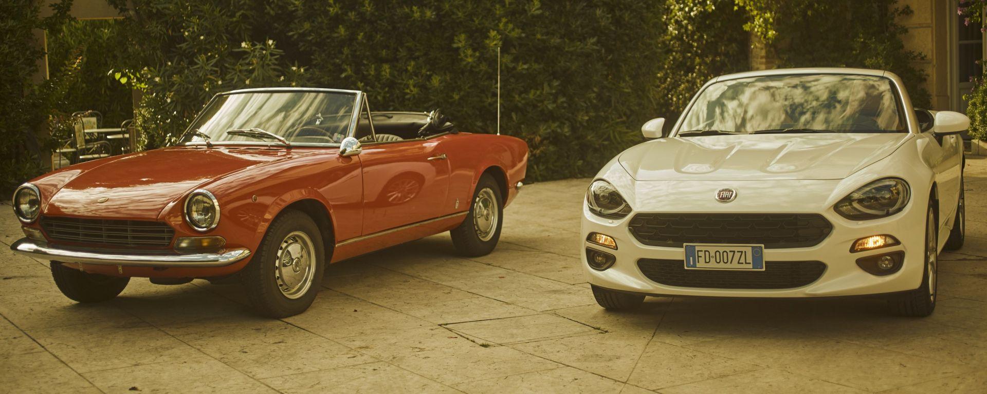 Fiat 124: 50 anni dopo, generazioni a confronto