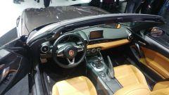 Fiat 124 Spider America, interni